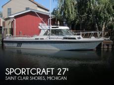 1988 Sportcraft 270 Fisherman