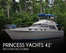 1983 Princess Yachts 412-2