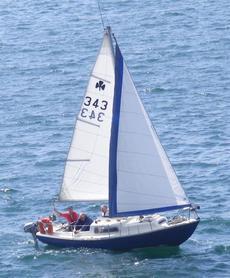 Corribee Mk 2; 21 ft yacht 'Bluebird' (SOLD)