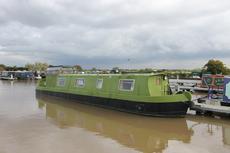 Denby Rose, 46ft Cruiser stern narrowboat, £24,950, 1984.