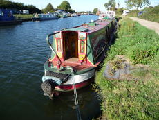 Viscount,tug style narrowboat