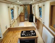 Brand New 60ft Cruiser Stern, Reverse Layout Narrow Boat (Narrowboat)