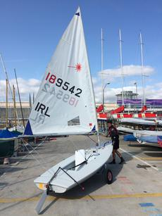 Laser Radial IRL 189542 at RSGYC DL Harb