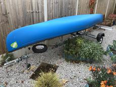Silverbirch Canoe and Trailer