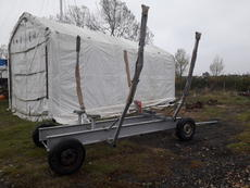 ROBUST YACHT TRAILER (used for 27' boat)