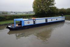 57' Trad stern narrowboat 1995 Evans & Sons
