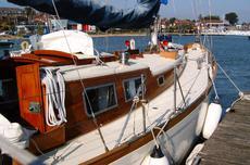34ft. HOLMAN BERMUDIAN SLOOP - Lloyds 100A1 for Sir Eric Drake
