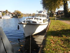 Moonraker 30, GRP Cruiser, Widebeam, Liveaboard, Houseboat, Pied-a-Ter