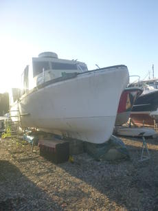 Part Completed Liveaboard Motor Boat