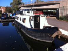 Riley's Island 42ft Cruiser Stern built Harborough Marine £27,995