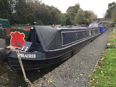 Prairie - 57ft semi traditional stern narrowboat