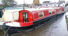 Old Henry - 56ft cruiser stern narrowboat