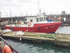 11.54m x 3.92m Steel Workboat