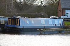 New 57ft Semi-Trad Stern Narrowboat.