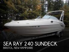 2004 Sea Ray 240 Sundeck