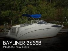 2005 Bayliner 265SB