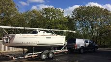 Beneteau First 21.7 Yacht Club Pack with trailer