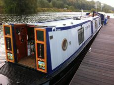Torestyn 48ft trad built by Golden Nook Boats £29,995