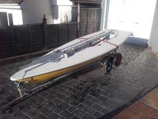 Laser 165511 with new standard sail and cover