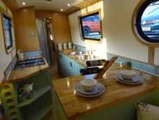 Fully Fitted 58ft Traditional Narrowboat Liveboard Canal Boat ono