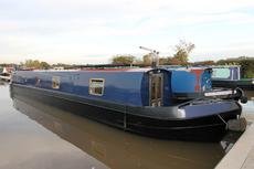 Gyptian, Traditional narrowboat, 2006. £48,950