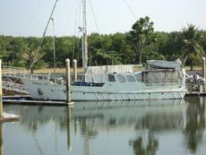 65 Ft Steel Motor Cruiser Ocean Pearl 11