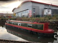 48 Feet 1994 Bridgewater Narrowboat on London Mooring