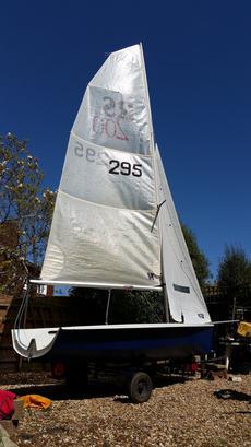 RS 200 Sail No295