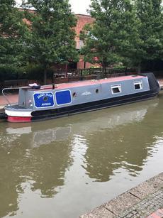 Narrowboat Emma Jane