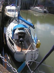 SANTA sailing yacht