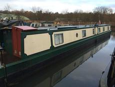70ft NARROWBOAT WITH RESIDENTIAL MOORING