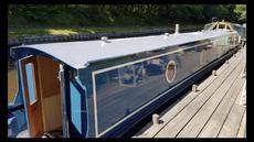 New 57ft  Narrowboat Cruiser Stern