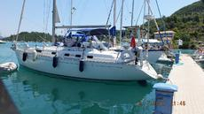 Dufour 39CC 1999 Superb Classic interior huge  double cabin aft.