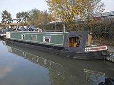ENTERPRISE NO 2 50ft 3in semi-trad narrowboat