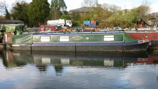 42ft Cruiser Stern Liverpool Boats Narrowboat, Nomad