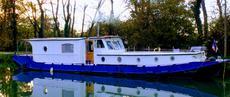 Silure Liveaboard Cruising Barge, 18 metre
