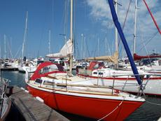 JAGUAR 27 FIN KEEL, RE-ENGINED £8950 ONO