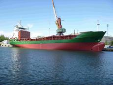 General Cargo Ship abt. 4650 DWT ice 1B blt 1986 by Sietas KG, Germany