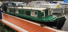NARROWBOAT 40 FOOT. KEYNSHAM MOORING