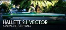 1995 Hallett 21 Vector