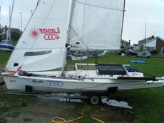 Laser 4000 - sail no: 4153