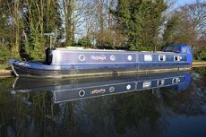 Unfazed - Lovely 2012 Northwich 60'x10' widebeam reverse style cruiser