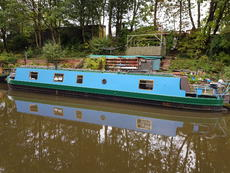 50ft Cruiser Stern Liverpool Boat