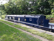 58' Cruiser Stern narrowboat with option of mooring at Saul Junction