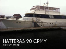 1985 Hatteras 80 CPMY