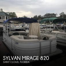 2016 Sylvan Mirage 820