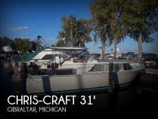 1966 Chris-Craft 31 Commander