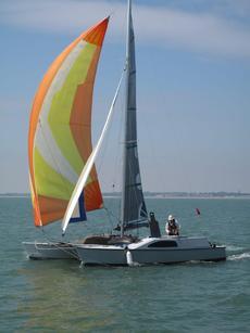 Woods Strider 'Turbo' trailer sailer
