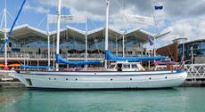 sailing yacht schooner 24/ 27m