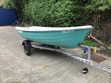 Terhi 385 with Mercury 8hp outboard